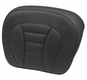 Deluxe Touring Seats - Black Tour Pack Pad