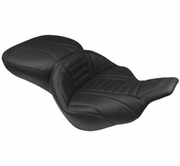 Mustang Deluxe Touring Seats - Black Long Tip