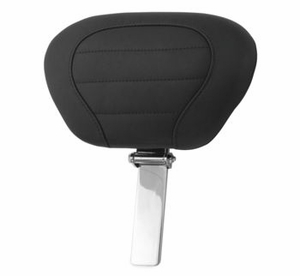 Deluxe Touring Seat - Black Smooth Trikes - Driver Backrest