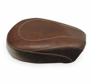 Wide Tripper Brown Solo and Passenger Seat - Smooth