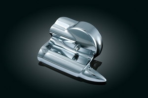 Oil Pressure Sender Cover - Chrome