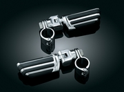 "Pilot� Pegs with Mounts & 1-1/4"" Magnum Quick Clamps - Chrome"
