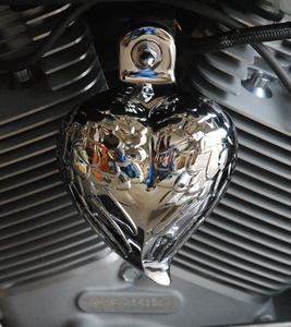 Show Chrome Angel Wing Heart