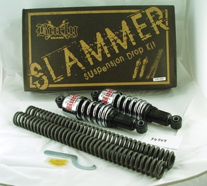 SLAMMER Suspension Drop Kit for Sportsters