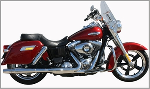 Slip-On ThunderCone for  Dyna SwitchBack