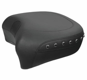 Solo with Driver Backrest and Recessed Rear Seat W/Black Pearl Studs