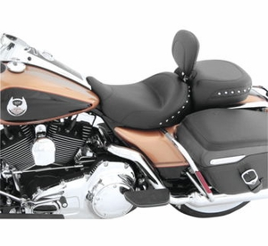 Solo with Driver Backrest and Recessed Rear Seat - W/Studs
