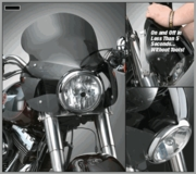 Stinger™Quick Release Fairings for FL Softails®