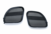 Tri-Line Speaker Grills for  Road Glide - Gloss Black