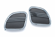 Tri-Line Speaker Grills for  Road Glide - Chrome
