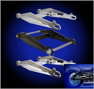 TRINITY V-ROD 300mm Swingarm Kit