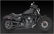 Vance & Hines Big Radius in BLACK
