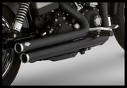 Vance & Hines Big Shots Staggered in Black