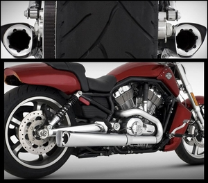Vance & Hines Competition Series Slip-Ons for VROD Muscle
