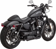 Vance & Hines Hi-Output Grenades Exhaust in Black