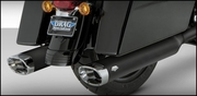Vance & Hines Monster Ovals (Black With Chrome Tips )