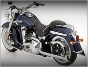 Softail Duals with Optional End Caps