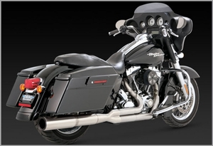Vance & Hines Stainless Hi-Output 2 Into 1