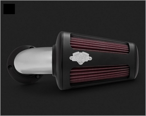 Vance & Hines VO2 90 Air Intake - Black & Chrome