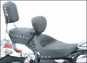 MUSTANG Wide Studded Solo with Driver Backrest