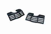 Wrinkle Black Slotted Head Bolt Covers - Wrinkle Black