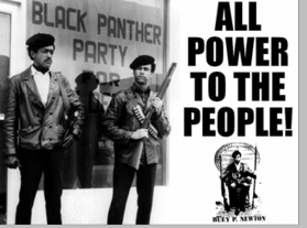 All Power To The People Black Panther Poster