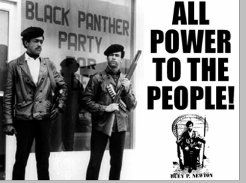 All Power To The People Black Panther T-Shirt