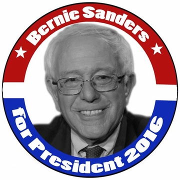 Bernie Sanders for President 2016 Classic Campaign Button