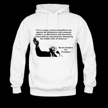 Bernie Sanders - War on Billionaries Hoodie