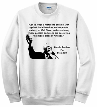 Bernie Sanders- War on Billionaires Sweatshirt