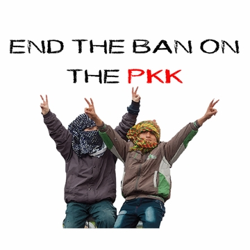 "Children Say ""End The Ban On The PKK"" Poster"