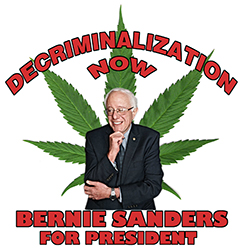 Decriminalization Now! Bernie Sanders Shirt