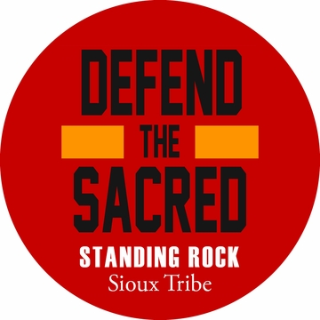 Defend the Sacred Standing Rock Button!
