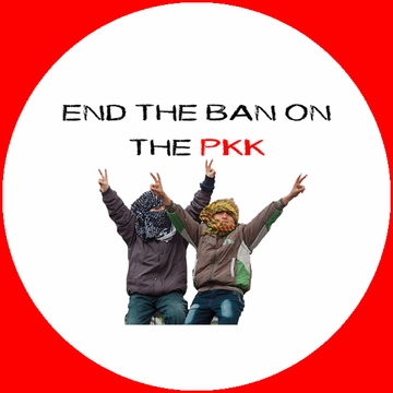 Children Say End The Ban On The PKK Buttons