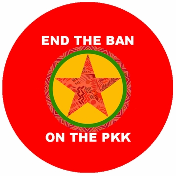 End The Ban On The PKK Buttons