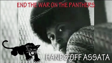 End The War on The Panthers Hands Off Assata T-shirt