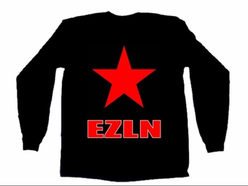 EZLN Red Star Long Sleeve Shirt