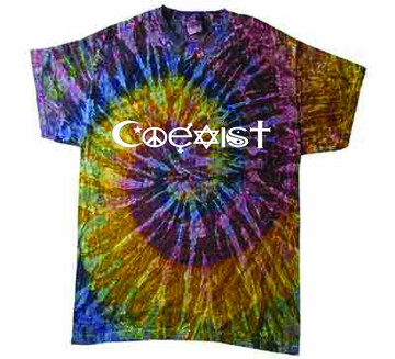 Galaxy Coexist Tie-Dye Shirt