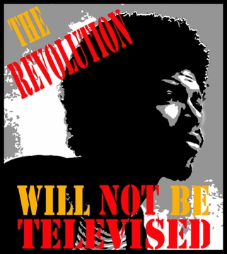 "Gil Scott Heron ""The Revolution Will Not Be Televised"" Poster"