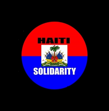 Haiti Solidarity Button