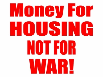 Housing Not War T-Shirt