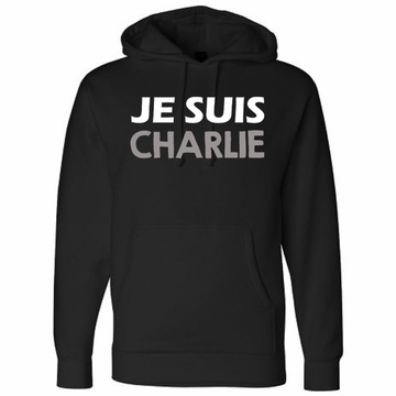 JE SUIS CHARLIE Hoody - Show Your Solidarity!
