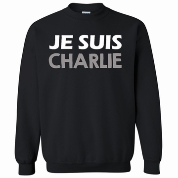 JE SUIS CHARLIE Sweatshirt - Show Your Solidarity!
