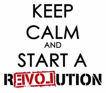 Keep Calm and Start a Revolution T-shirt