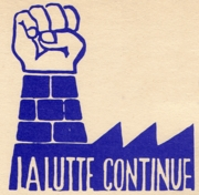 La Lutte Continue (The Struggle Continues)