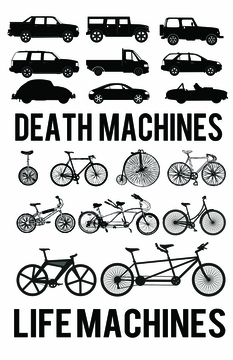 Life Machines Poster T-shirt