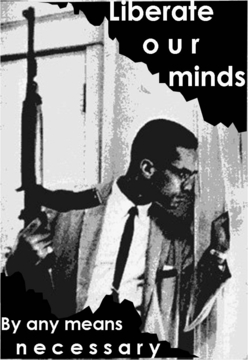 Malcolm X Liberate Our Minds Tee