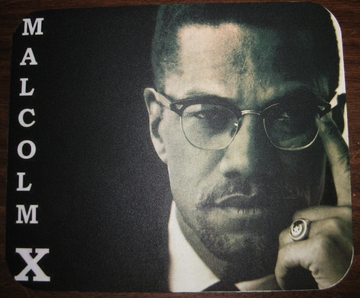 Malcolm X Mouse Pad