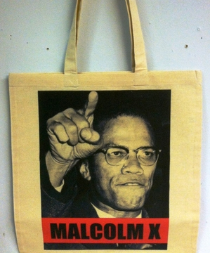 Malcolm X Tote Bags