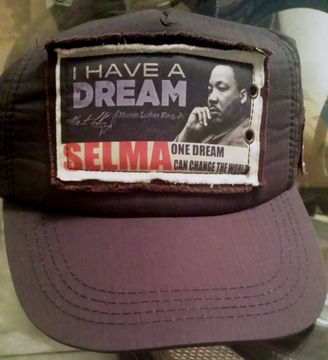 Martin Luther King: I Have A Dream Selma Baseball Cap- Adjustable, One Side Fits All!